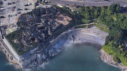 Beacon Cove next to the closed Living Coasts in Torquay