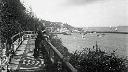 View of the harbour from the Rock walk