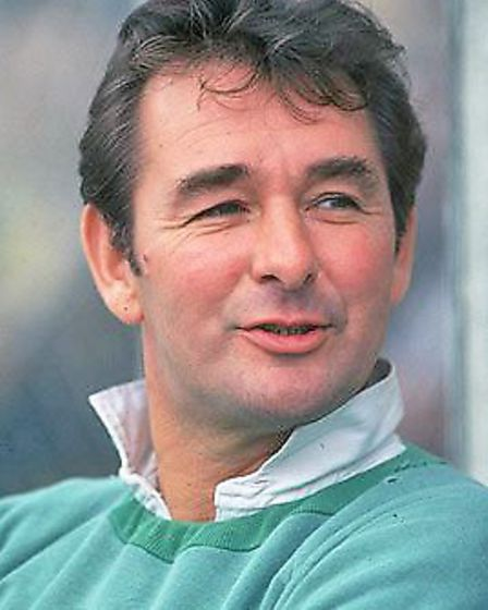 Brian Clough as manager of Notts Forest