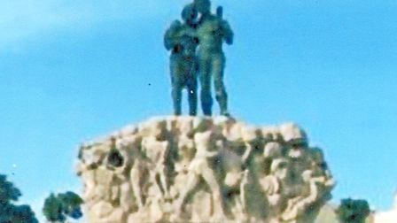 The Worker's Monument in Msida - erected in 1980