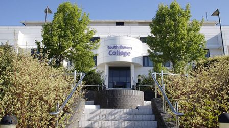The entrance to South Devon College