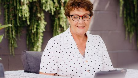 Now: Fran Harper keeps up with Torbay news via the Torbay Weekly digial edition from her home in Mel