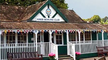 King's Bowling Club's clubhouse on Torquay seafront
