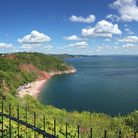 The view from Pastor Tim Smith's daily walk to Babbacombe Downs in Torquay