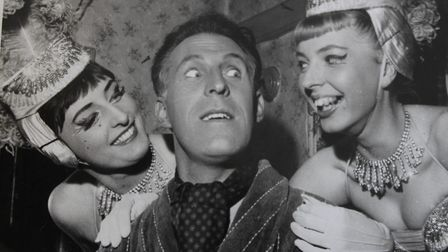 Jill Webber, right, and the late Bruce Forsyth