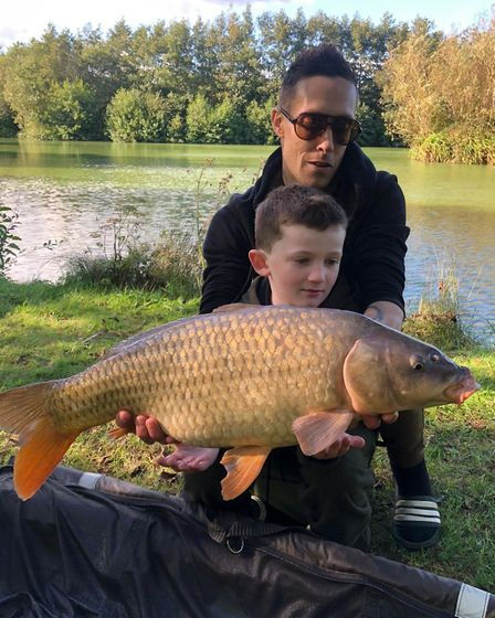 Common carp for Ian Ross and Brody from M and B Fishery