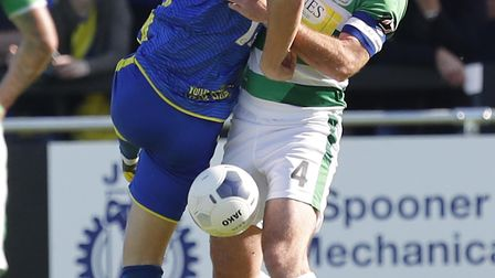 Danny Wright in action for Solihull Moors. Photo: Steve Bond/PPAUK