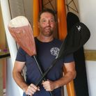Brendon Prince is set for his paddle board challenge