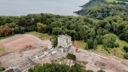From the ruins of the Palace will rise a five-star hotel and spa resort