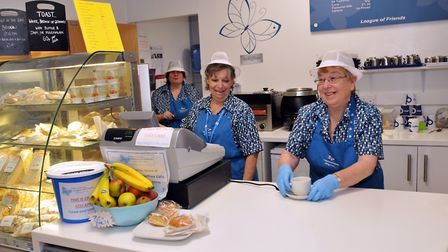 Donations have meant the NHS trust could buy kettles, microwaves and a fridge to meet the needs of m