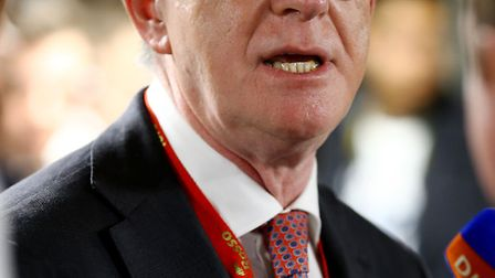 File photo dated 28/09/15 of Lord Mandelson, who will warn that British firms will face years of unc