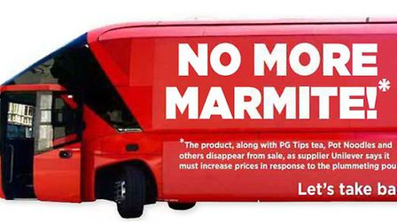 Marmite disappears from sale