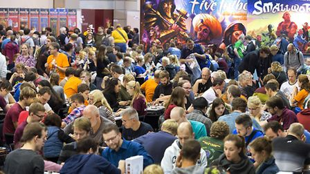The world's biggest board game trade fair takes place in Essen, Germany, every October