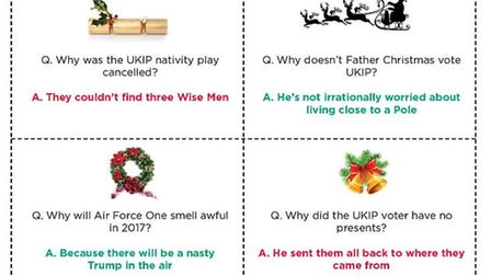 Get ready to groan, with our Brexit Christmas cracker jokes