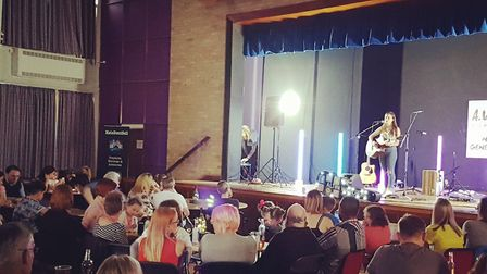Shannon Elsden performing at Thetford Live Acoustic Night 6 held at Charles Burrell Centre. Picture: