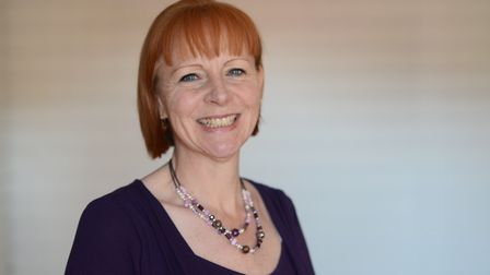 Jo Mountjoy-Dixon, a trustee of the Thetford & District Dementia Support Group. Picture: Ian Burt