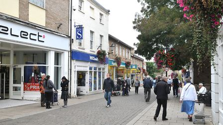 Thetford town centre. Picture: Sonya Duncan