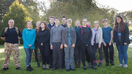 Students from Iceni Academy taking part in their bronze Duke of Edinburgh. Picture: Iceni Academy