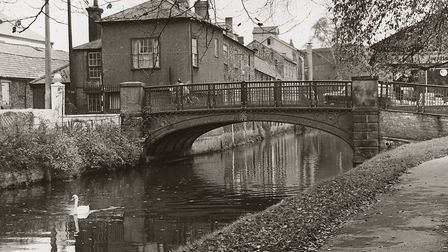 A tranquil scene at Thetford river, 1950s. Picture: Archant Library