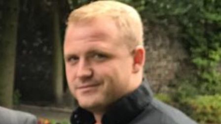 Terry Cooper, 30, from the Dereham area, who was killed in a crash on the A1075 on November 19.