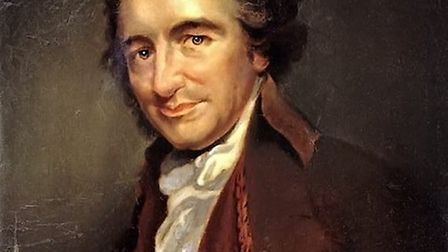 Thomas Paine. Picture: Archant Library