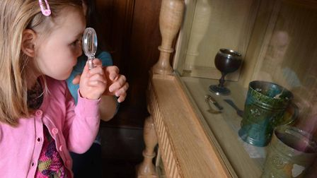 Children exploring Ancient House Museum in Thetford. Picture: Ancient House Museum