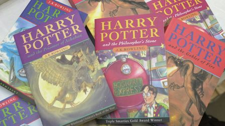 Harry Potter books. Picture: Sonya Duncan