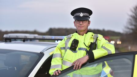 Out on shift with Norfolk Police. PC David Sayer. Picture: Sonya Duncan