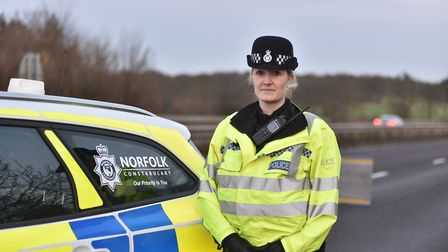 PC Amy Lucas, Community engagement officer for Brekcland. Picture: Sonya Duncan