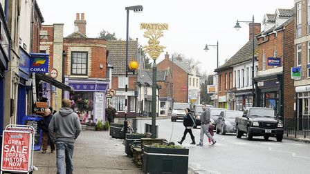 Watton High Street. Picture: Matthew Usher