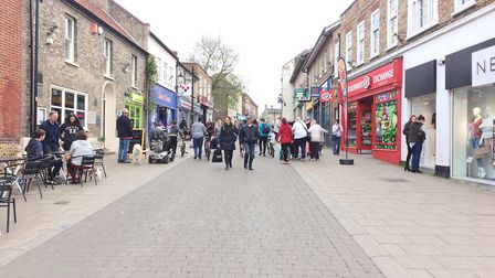 Thetford's King Street. Picture: Rebecca Murphy