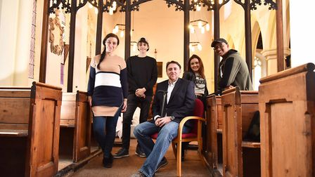 Thetford-based Inspire Focus have taken over St Peter's church in the town. Carla and Joe Barreto ar