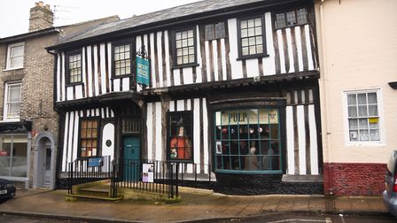 The Ancient House Museum of Thetford Life. Picture: Ian Burt