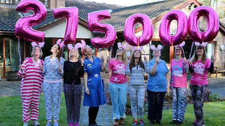 St Nicholas Hospice Care celebrates record-breaking Girls Night Out. Picture: St Nicholas Hospice Ca