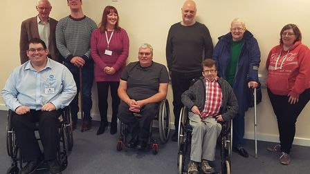 The first meeting of the Thetford Independent Living Group. Picture: Thetford Independent Living Gro