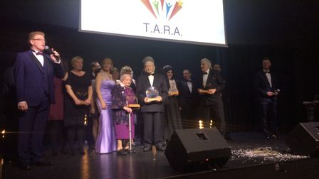 The winners of the TARAs 2018. Picture: Rebecca Murphy
