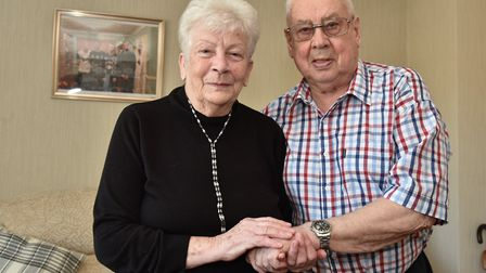 Wallace and Pearl Catchpole are celebrating their diamond wedding anniversary and Mrs Catchpole's 80