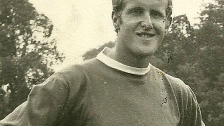 Former Norwich City football player Dick Scott. Picture: SCOTT FAMILY