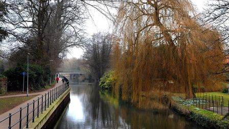 The Little Ouse River in Thetford. Picture: Sonya Duncan