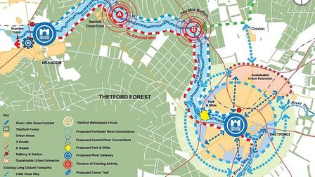 The improvements to access the Little Ouse river from Thetford to Brandon. Picture: Richard Glen Ass
