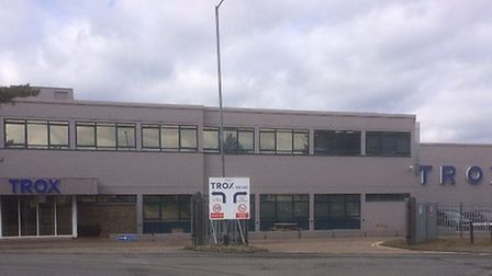 The TROX UK site in Thetford. Picture: TROX UK