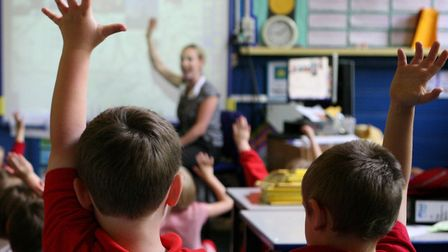 Children in a classroom. Picture: Dave Thompson/PA