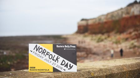 Norfolk Day is on Friday 27th July. Pictured are the cliffs at Hunstanton. Picture: Ian Burt
