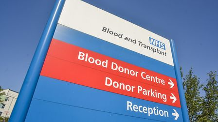 Blood donation sessions to be held in Thetford and Weeting. Picture: NHSBT Press Office