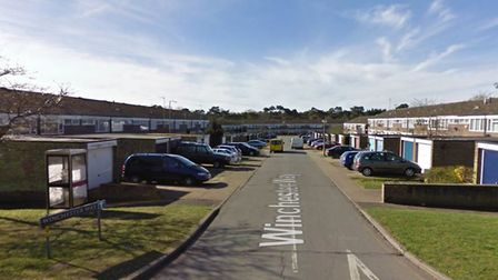 A man was threatened with a knife and hit with a hammer during an aggravated burglary in Winchester