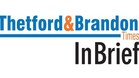 In Brief is the new and improved weekly newsletter brought to you by the Thetford & Brandon Times.