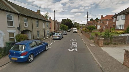 The body of a man in his 20s was found in a property on Station Road in Thetford on Monday evening.