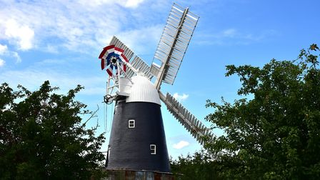 Thelnetham Windmill will open to visitors for National Mills Weekend. Picture: Sonya Duncan
