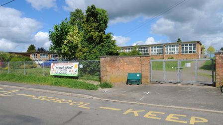 Fire crews attended a chemial leak at Edmund De Moundeford Primary School in Feltwell. Picture: Sony