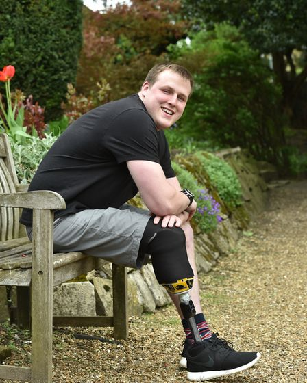 Jordan Greenwood is continuing to recover from his accident and is planning to walk up Snowdon in Ma